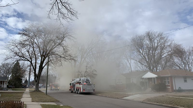 Hastings fire crews were called to a house fire on West 8th St near the Morton Elementary...