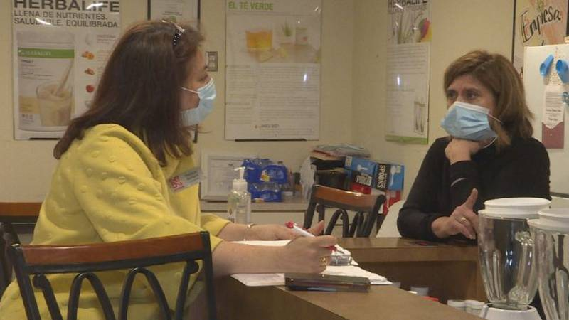 UNL Extension Educator Sandra Barrera helps local business owners overcome language barriers