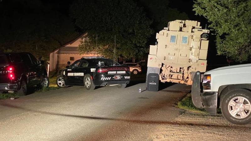 A NSP SWAT team member shot and killed a man after an overnight standoff in Juniata.