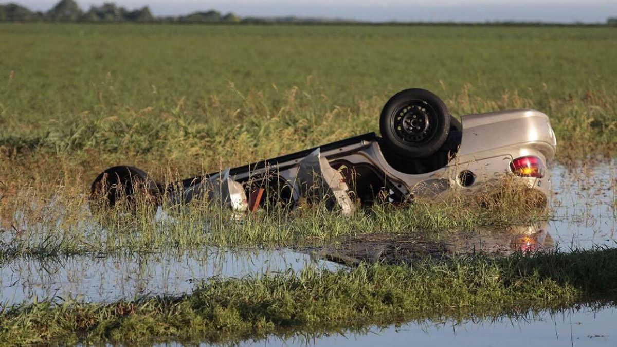 Officials found 46-year-old Shelly Masoner of Eustis trapped in her car with her 26-year-old daughter. The vehicle rolled into a water-filled ditch after hitting flood waters on Highway 21 south of Cozad.