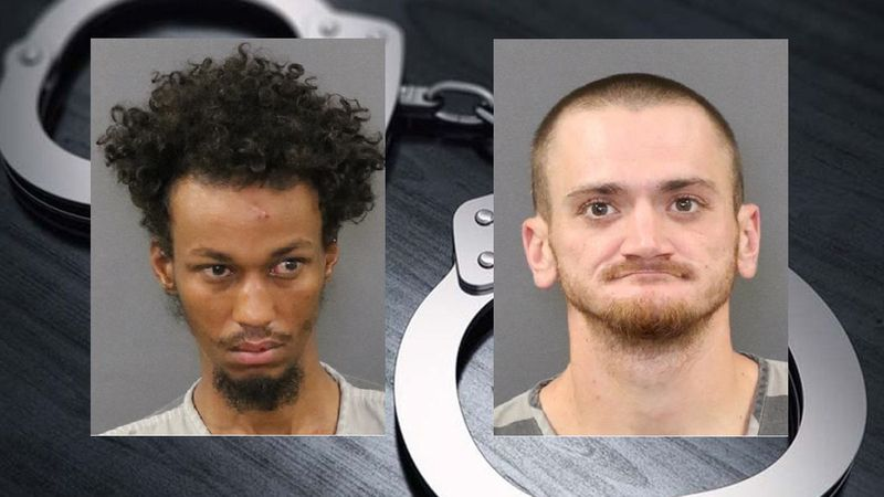 Mohamed K. Hussein, on the left, and Blake Peterson are facing charges following a knife fight...