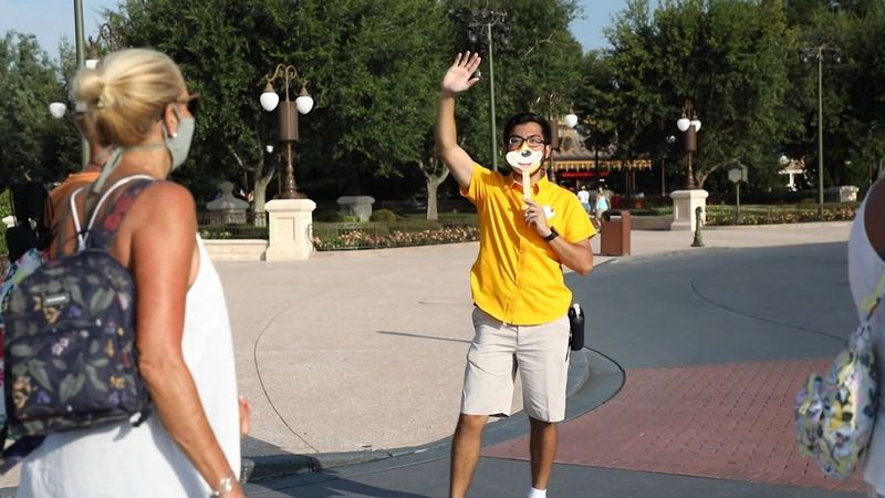 Disney announced on its website Wednesday it is ending temperature checks for staff and guests...