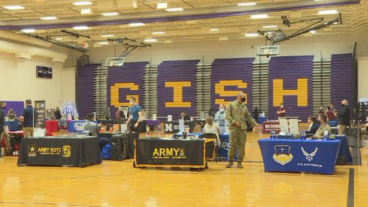 2021 College fair at GISH.