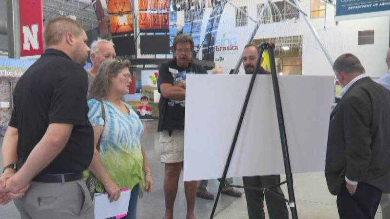 People give opinions on how Fonner Park could improve during Master Planning Meeting at The...