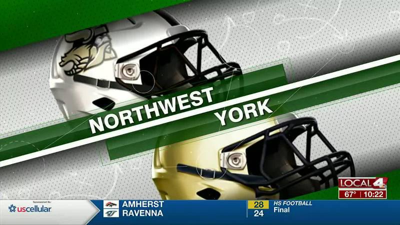 Northwest @ York Football
