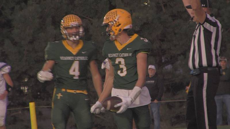 Kearney Catholic touchdown.
