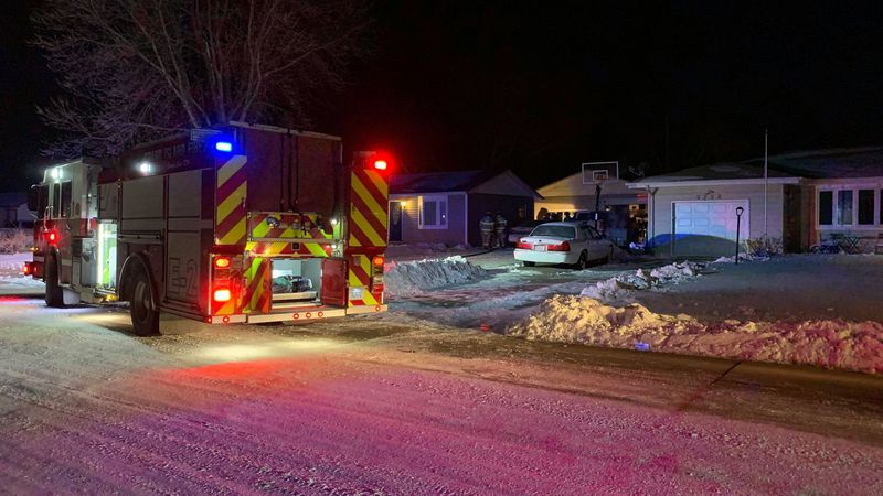 Grand Island Fire Department was called to the fire just after 5 a.m. on Friday morning.