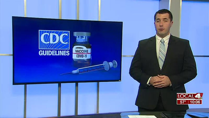 CDC says vaccinated people can relax precautions