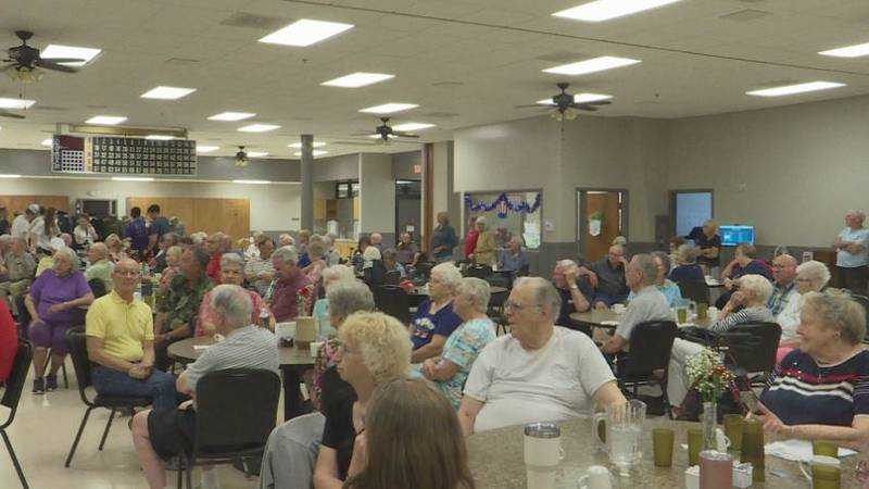 Senior Center in Grand Island holds a reopening ceremony after being closed due to concerns of...