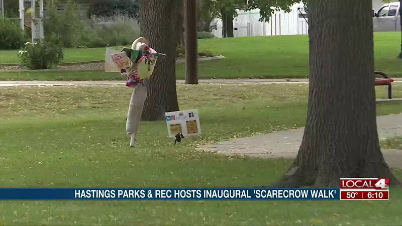 City of Hastings holds inaugural 'Scarecrow Walk'