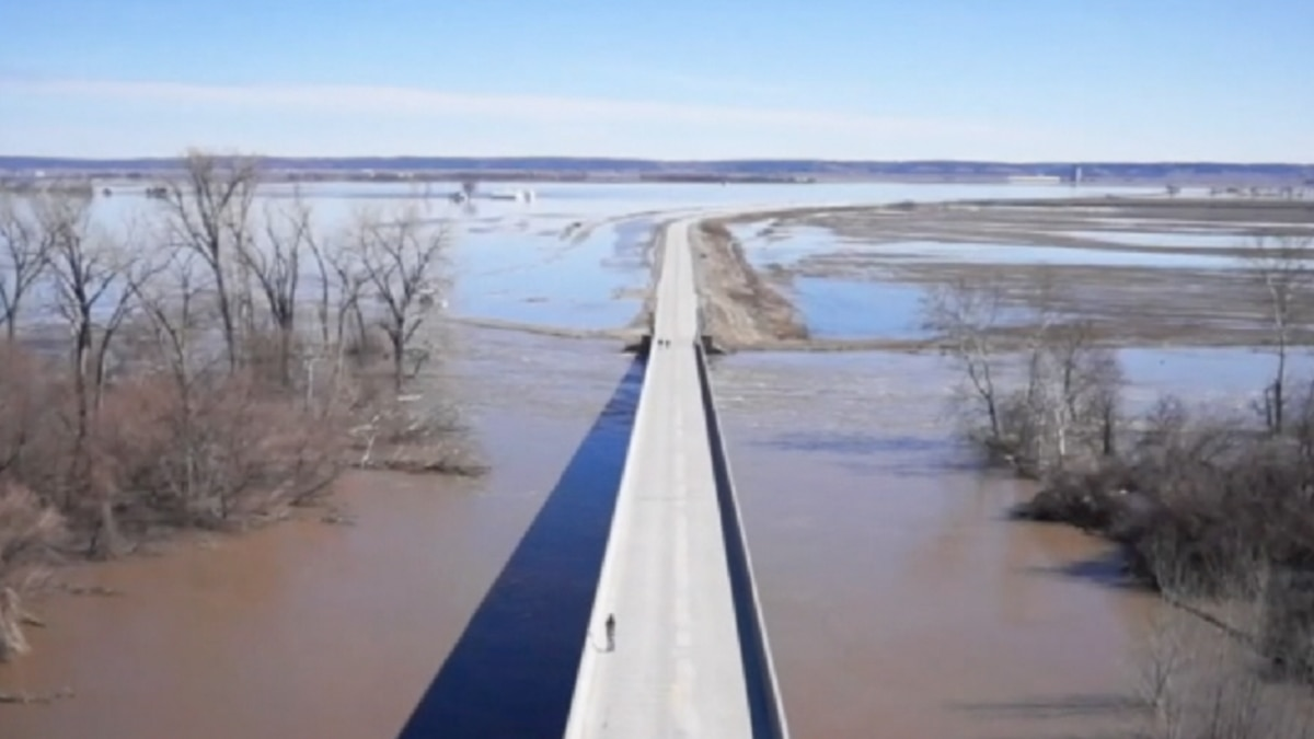 Flooding is causing closures along the Missouri River. (Source: News Channel Nebraska)