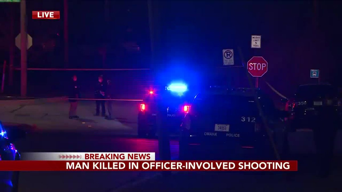 A man died Thursday night in an officer-involved shooting in southeast Omaha.