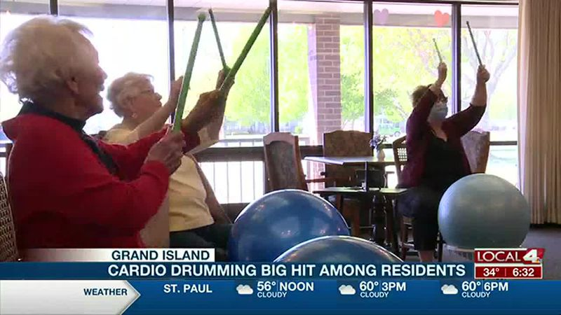 Grand Island retirement home brings in new fitness class
