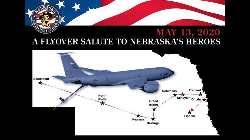 Wednesday, May 13th, the National Guard will visit 14 Nebraska hospitals across the state....