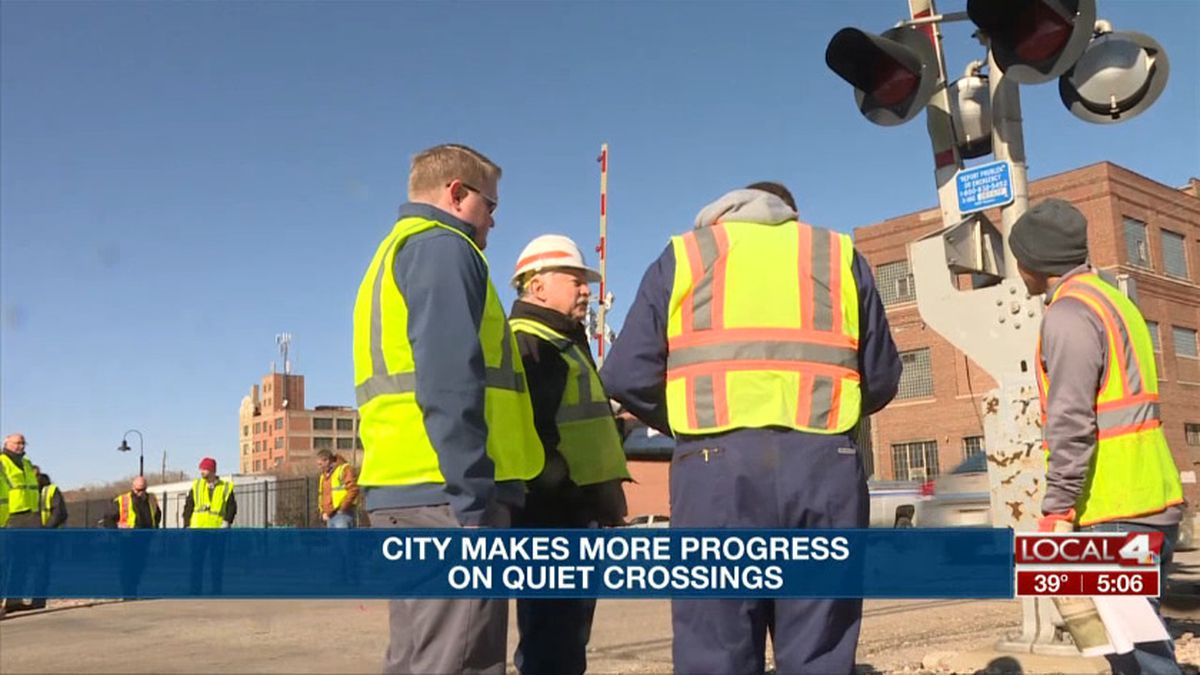 People with the city of Hastings and the state conducted a diagnostic review of ten crossings downtown to see if they meet certain standards for quiet crossings. (Source: Kelsey Dickeson, KSNB)