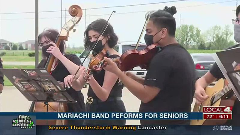 GISH Mariachi Band performs for senior living home