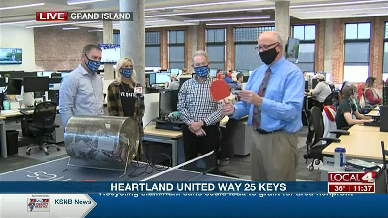 he Heartland United Way annual campaign has encouraged people to share with others and make a...