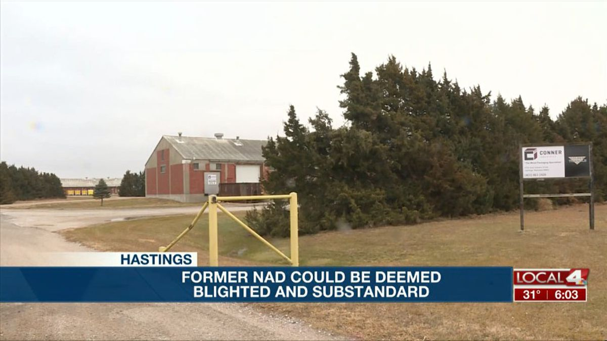 In Hastings, the city is still considering making part of the former Naval Ammunition Depot a blighted and substandard area. (Source: Kelsey Dickeson, KSNB)