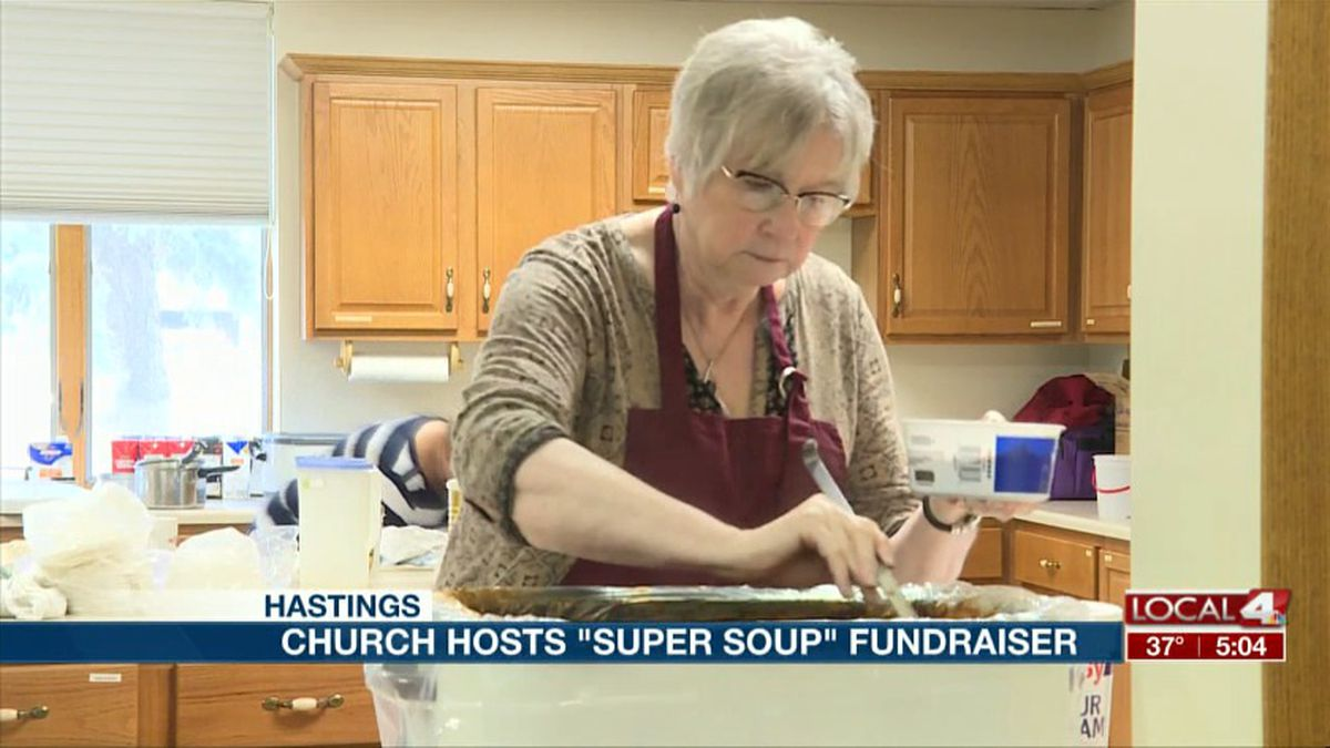 "The First Congregational United Church of Christ in Hastings hosted their annual ""Super Soup Sunday"" on November 10. (Source: Kelsey Dickeson, KSNB)"