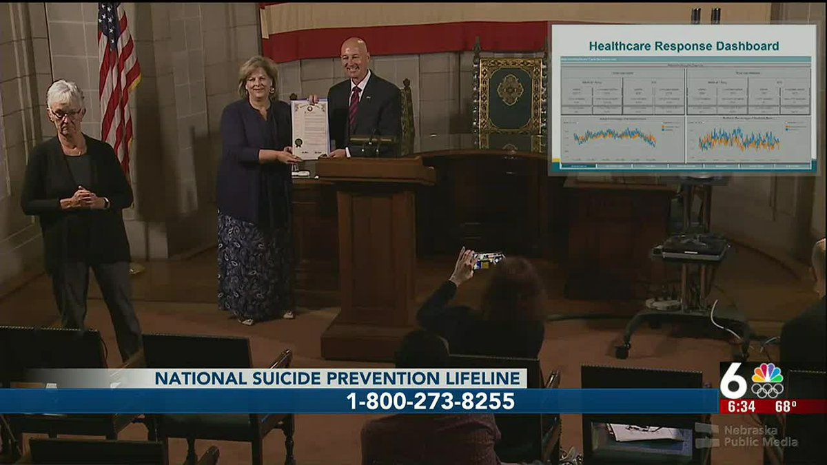 Gov. Pete Ricketts addressed the public today in an effort to raise awareness and support for...