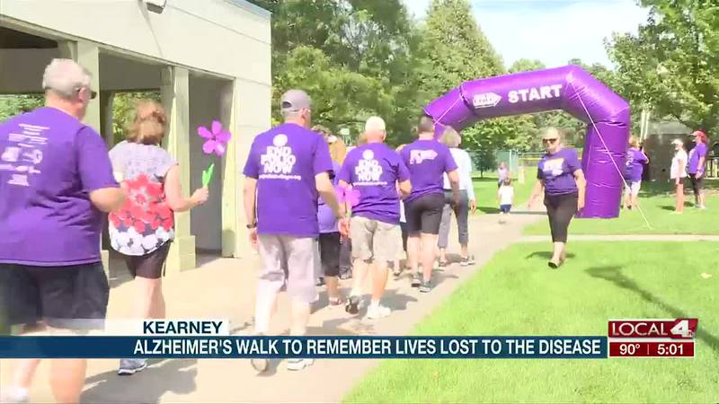 Alzheimer's Walk in Kearney remembers lives lost to disease