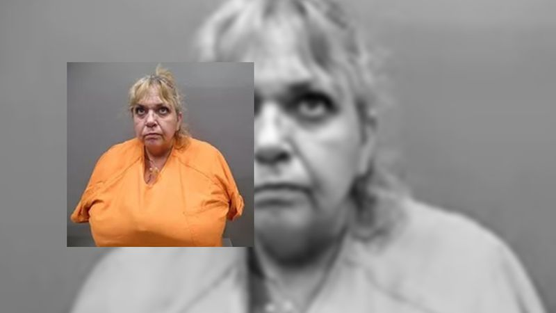Margaret Kelly was arrested by a Sherman County Sheriff's deputy on drug related charges.