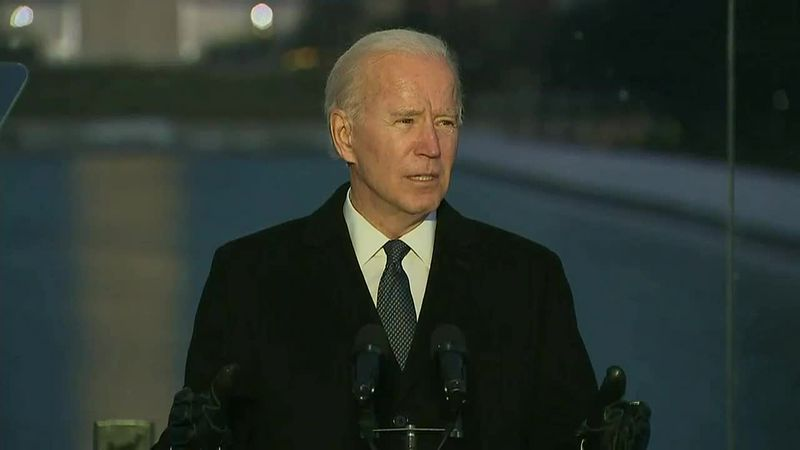 Wednesday is Inauguration Day for Joe Biden.