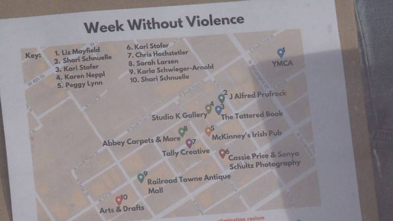 The week was dedicated to raising awareness on violence against women and girls in the community.