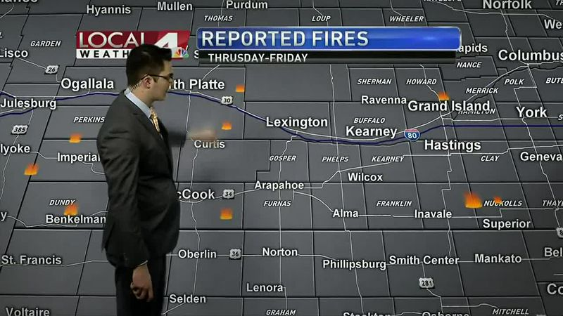 High winds fanned flames of multiple fires the past couple days. Fortunately, the winds have...