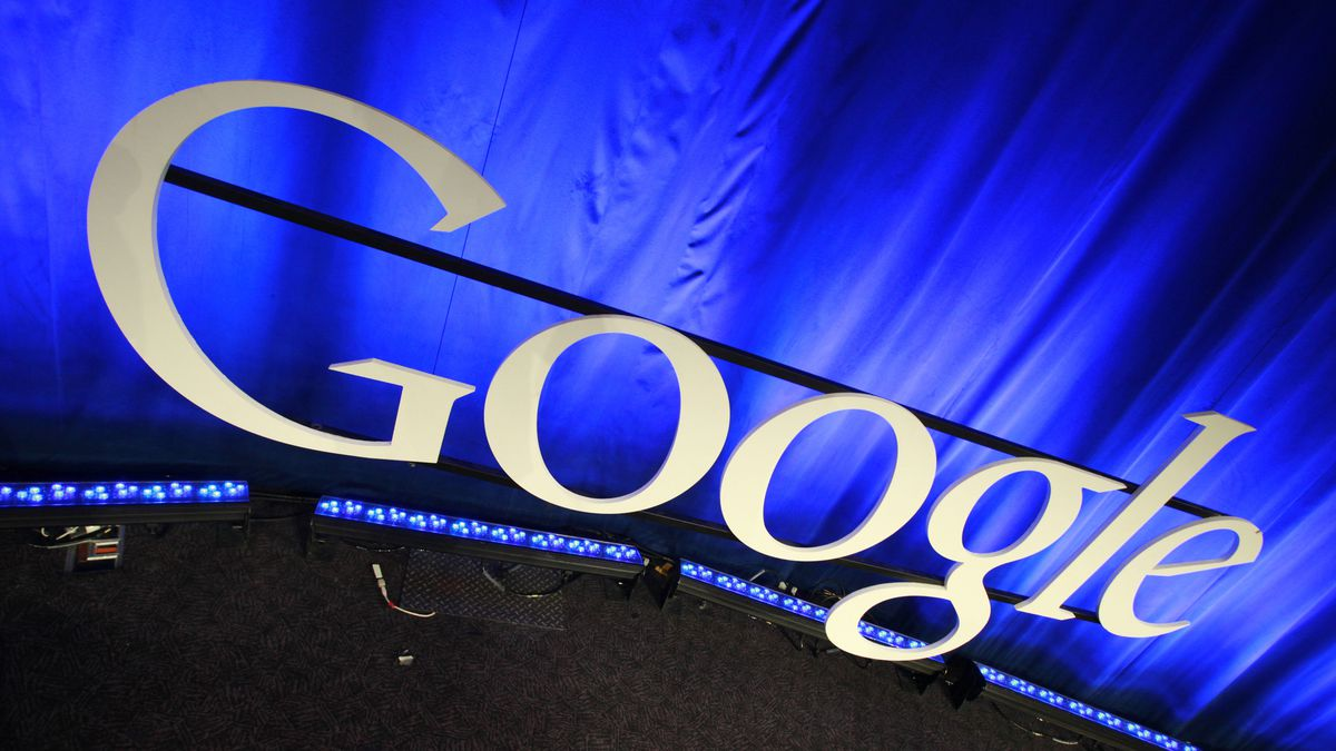 FILE - This file photo taken April 9, 2010 shows a Google sign at the company's headquarters in...