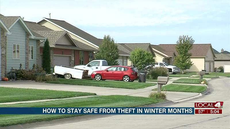 Watch out for thieves during the colder months