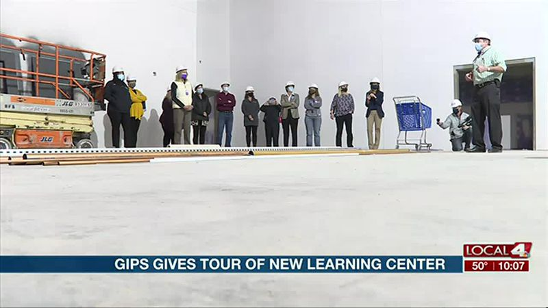 GIPS gives tour of new learning center