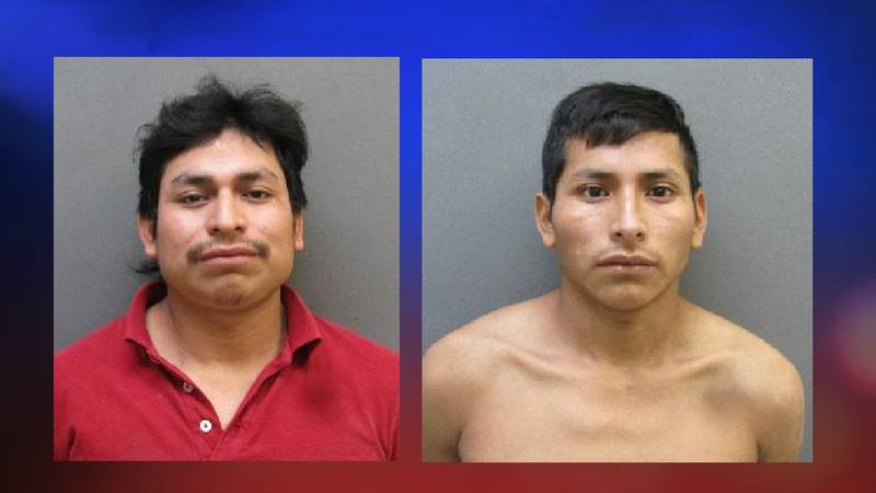 Candelario Hernandez-Ralios (left) and his brother Santiago Hernandez-Ralios are facing charges...