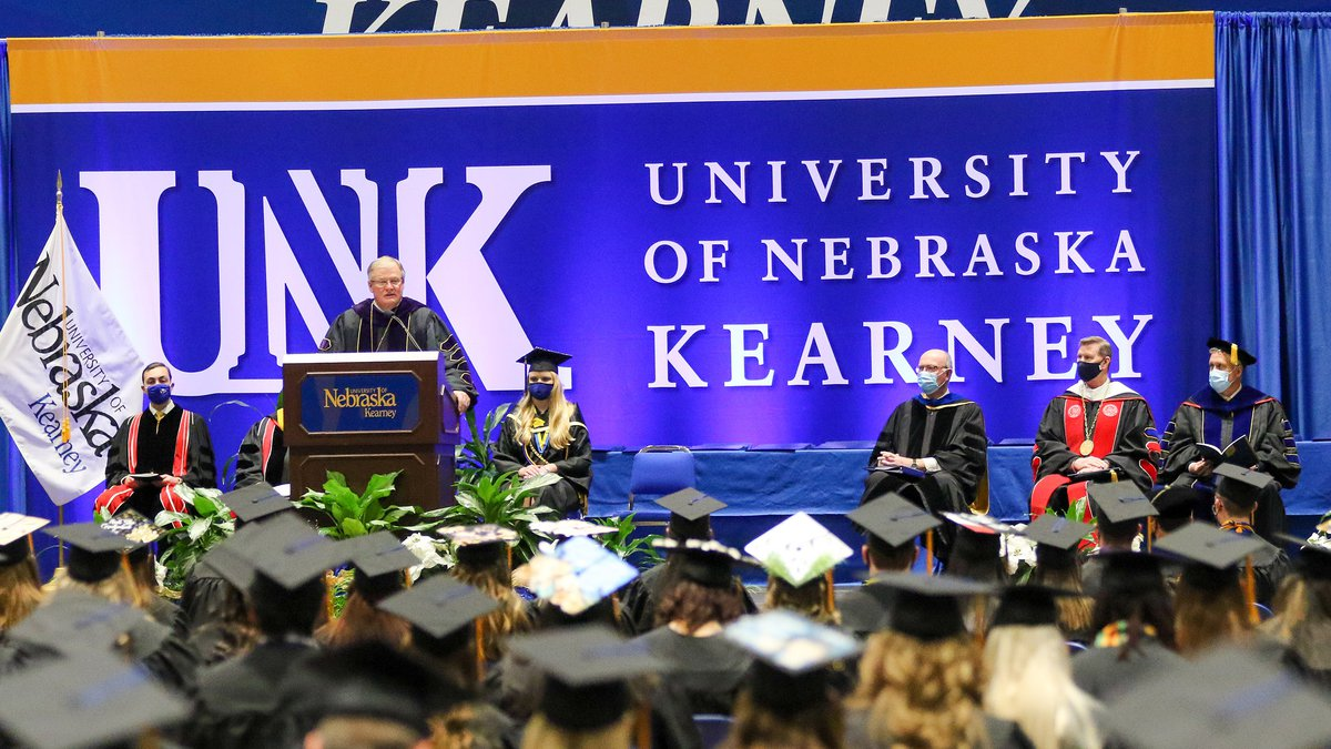 The University of Nebraska at Kearney will host spring commencement ceremonies May 7 and 8 at...