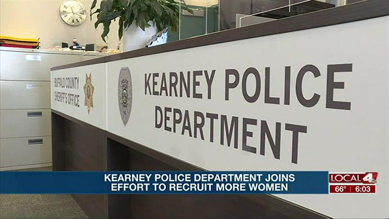 Kearney Police Department joins national effort to recruit more women