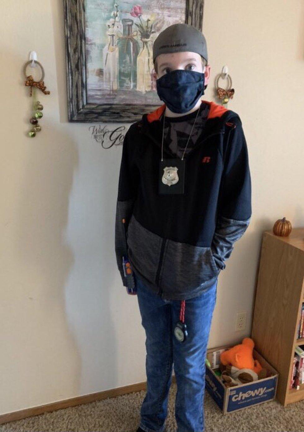 Ryan Larsen, 11, has been missing since he walked away from his school in La Vista on Monday,...