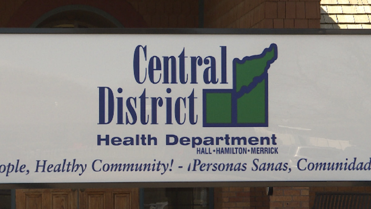 With daily reports of new cases of COVID-19 in central Nebraska, the Central District Health...