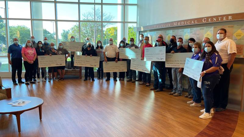 Eight area fire and rescue departments and Project Serenity were the beneficiaries of a $66,694...