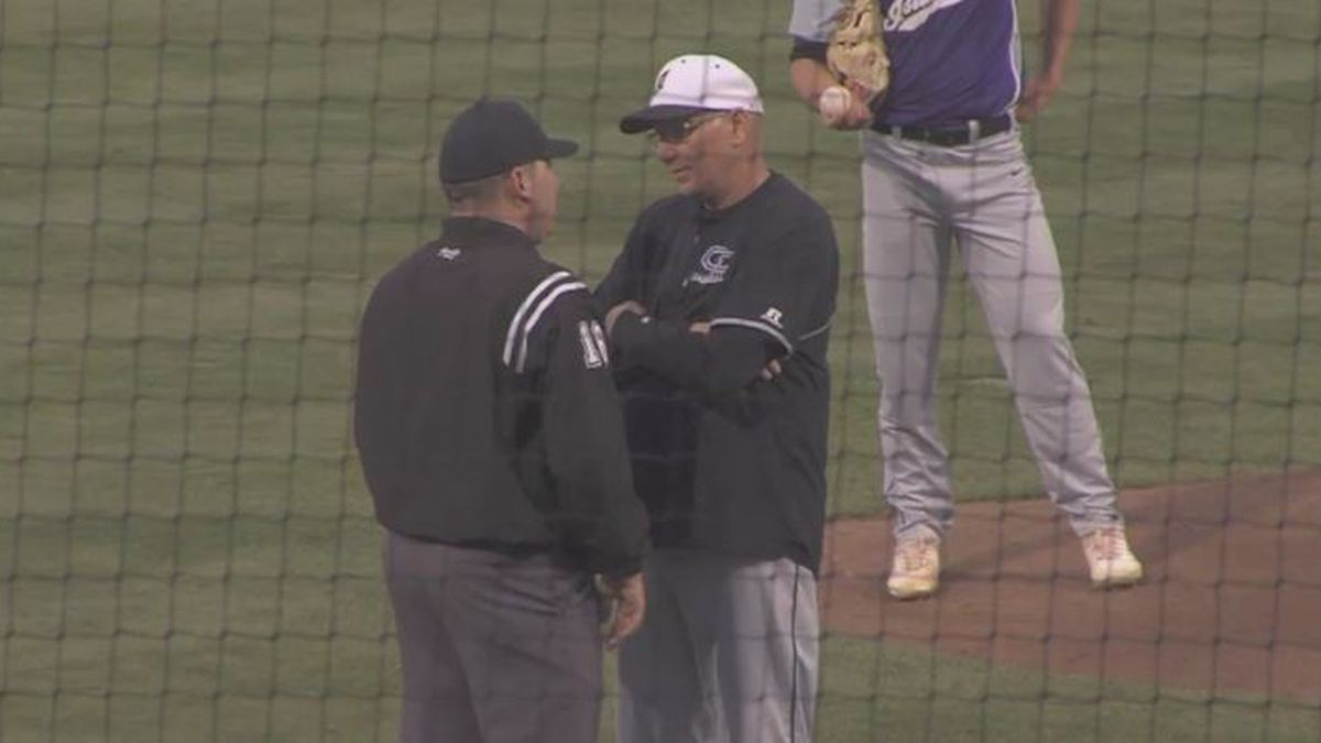 Joe Wells coaching for Grand Island baseball
