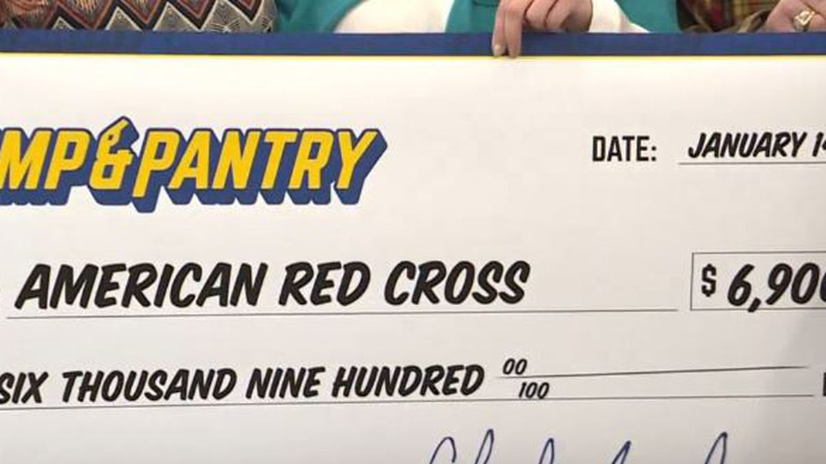 """After seeing """"Nebraska Strong"""" shirts and hats, Bosselman's donated the money to the American Red Cross. (KSNB)"""