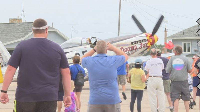 The Nebraska State Fly In and Airshow at the Hastings Municipal Airport.