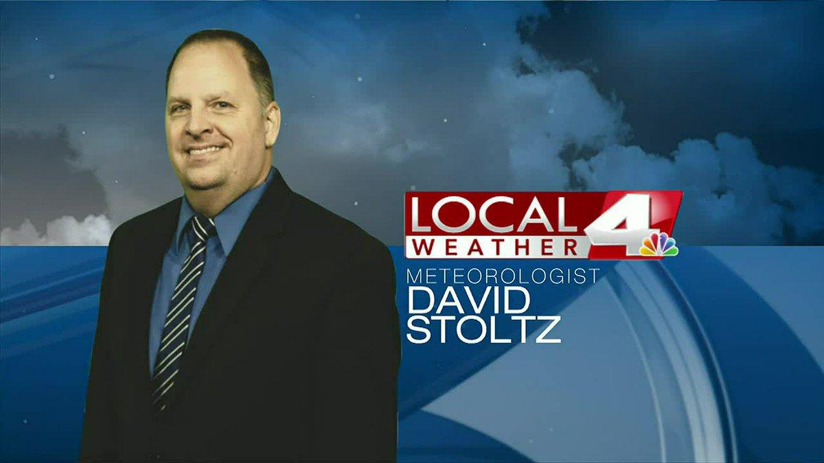Evening forecast- David Stoltz