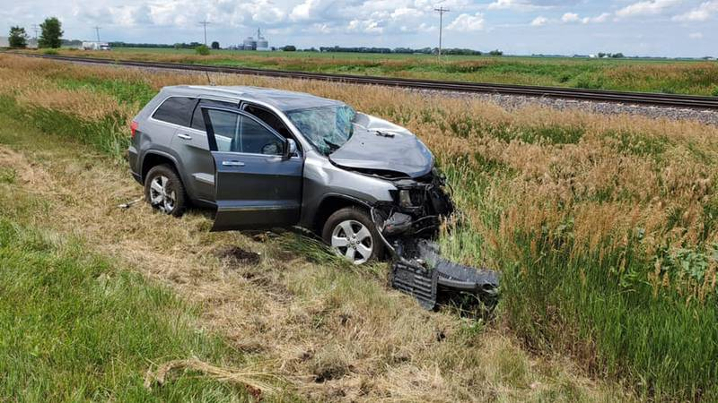 One dead after crash in Merrick County.