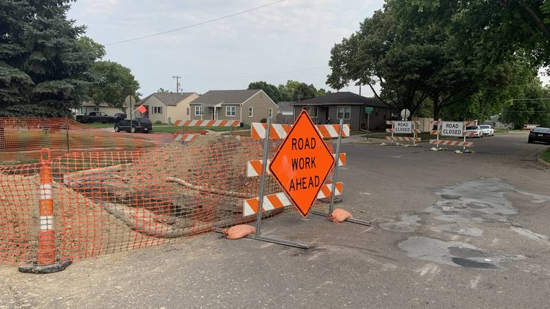 A portion of 7th Street in Hastings will be closed starting Monday due to a water main...