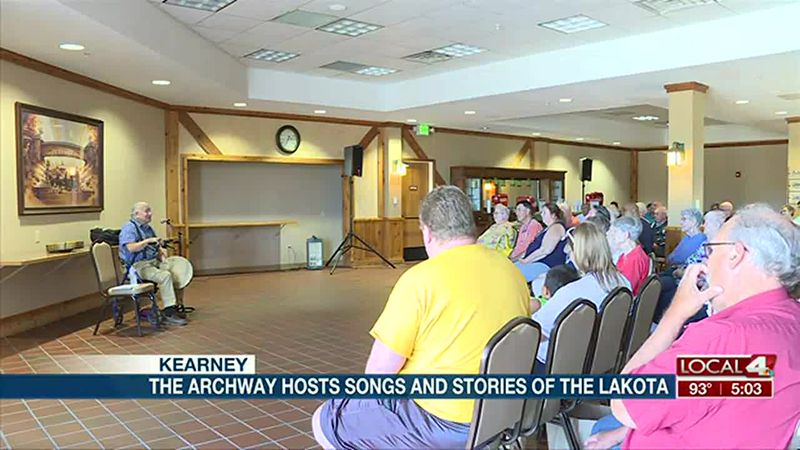 The Archway hosts Songs and Stories of Lakota