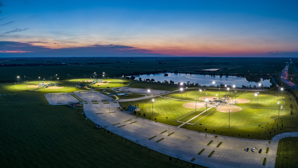 The Veterans Athletic Complex will be one of the places where teams will play during the...