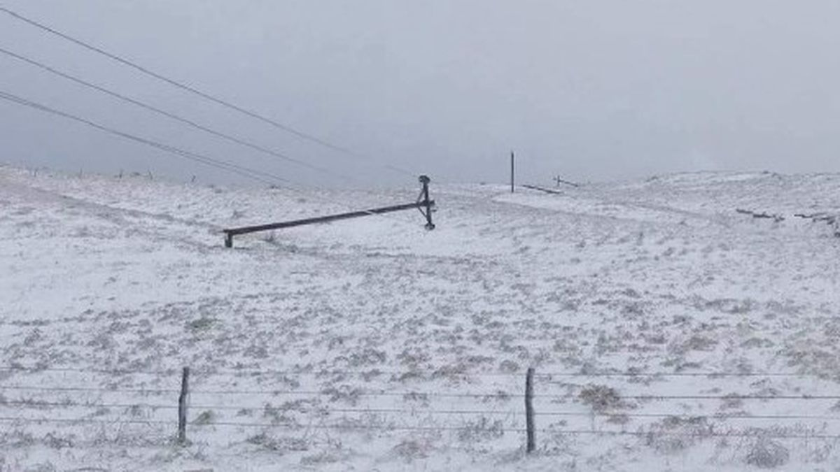 The Panhandle Rural Electric Membership Association hopes to have customers' power restored by Friday. Hundreds of meters are not getting electricity in the North Western part of the state after ice and wind caused extensive utility damage.