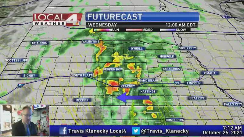 Lots of wind, thunderstorms, and perhaps some snow are all a part of this forecast.