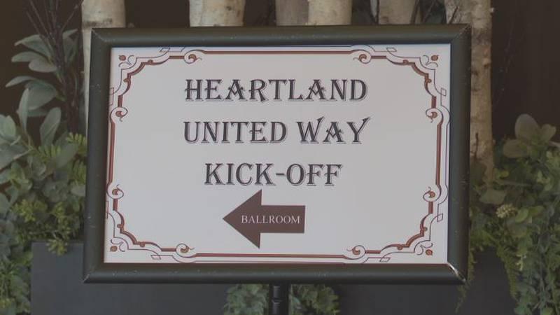 Heartland United Way kicks off annual campaign at Riverside Lodge in Grand Island.