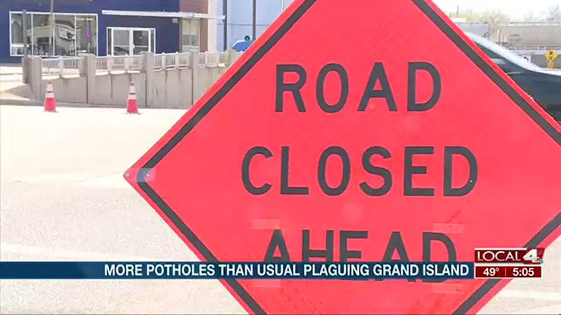 More potholes than usual plaguing Grand Island